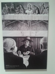 Martin Parr. Buffet Lunch, Steep Lane Baptist Chapel, 1976
