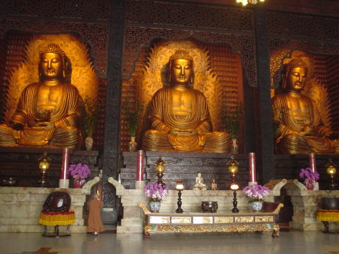 Buddhist Temple, Fo Guang Shan Monastery, Kaohsiung, Taiwan