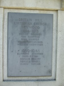 Britain Hill Unitarian Church Heywood
