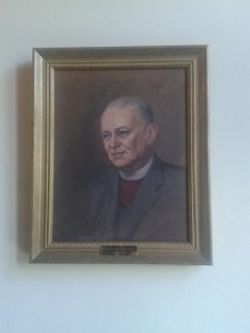Portarit of Rev Eric Price