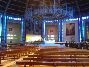 The view toward the altar