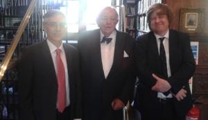 Richard Price with Nigel Clarke and David Steers