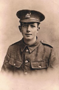 Private Stanley Jennings of Hinckley, of the 15th Battalion Durham Light Infantry. Killed in France 3rd May 1917, aged 29