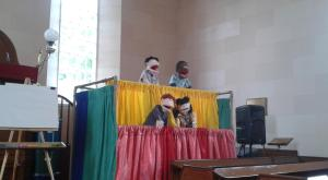 Puppet quartet