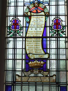 Memorial window Park Lane (Photo: Lynne Readett)