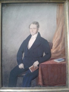 Portrait believed to be the Rev Porter Orr (Comber NSP Church)