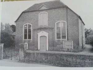 St Thomas' Unitarian Chapel Ringwood (from 'The Unitarian Heritage')