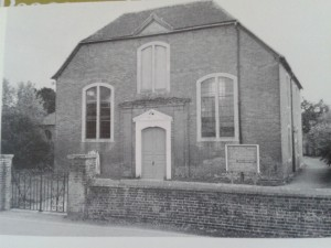 St Thomas' Unitarian Chapel Ringwood (from 'The Unitarian Heritage')
