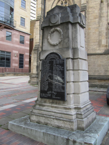 The Unitarian Cenotaph Leeds (Photo Jo James)