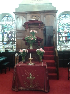The eighteenth-century three decker pulpit