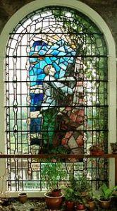 Memorial window in Platt Chapel (Photo: Len Smith)