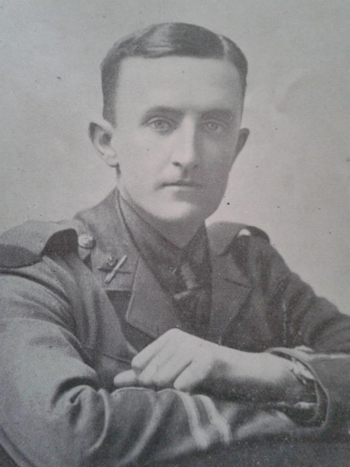 Captain JS Davidson 1916