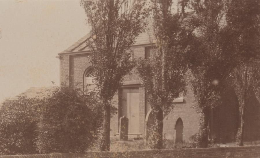 Unitarian Chapel Croft detail