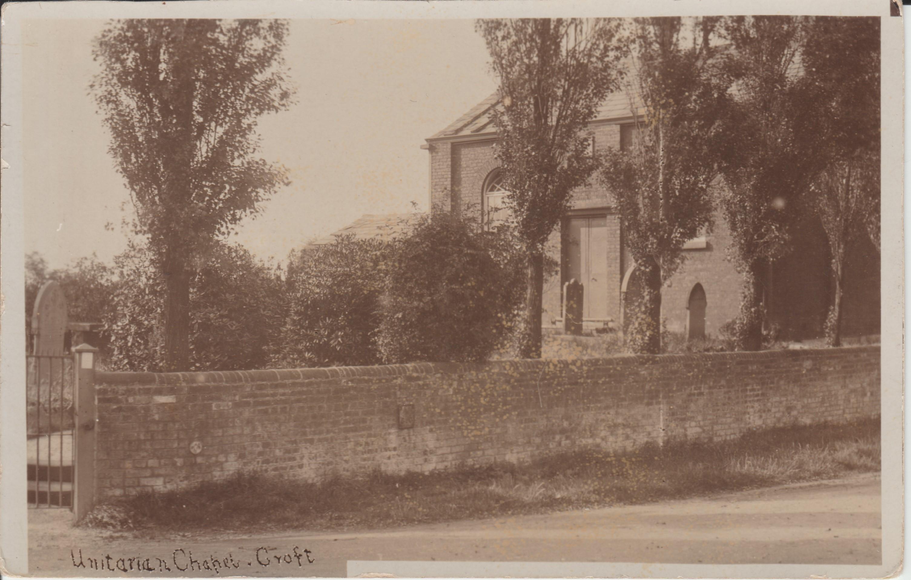 Unitarian Chapel Croft