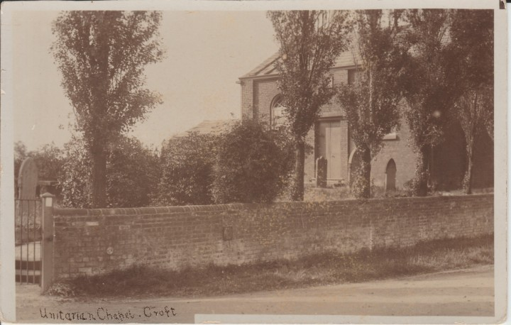 Unitarian Chapel Croft