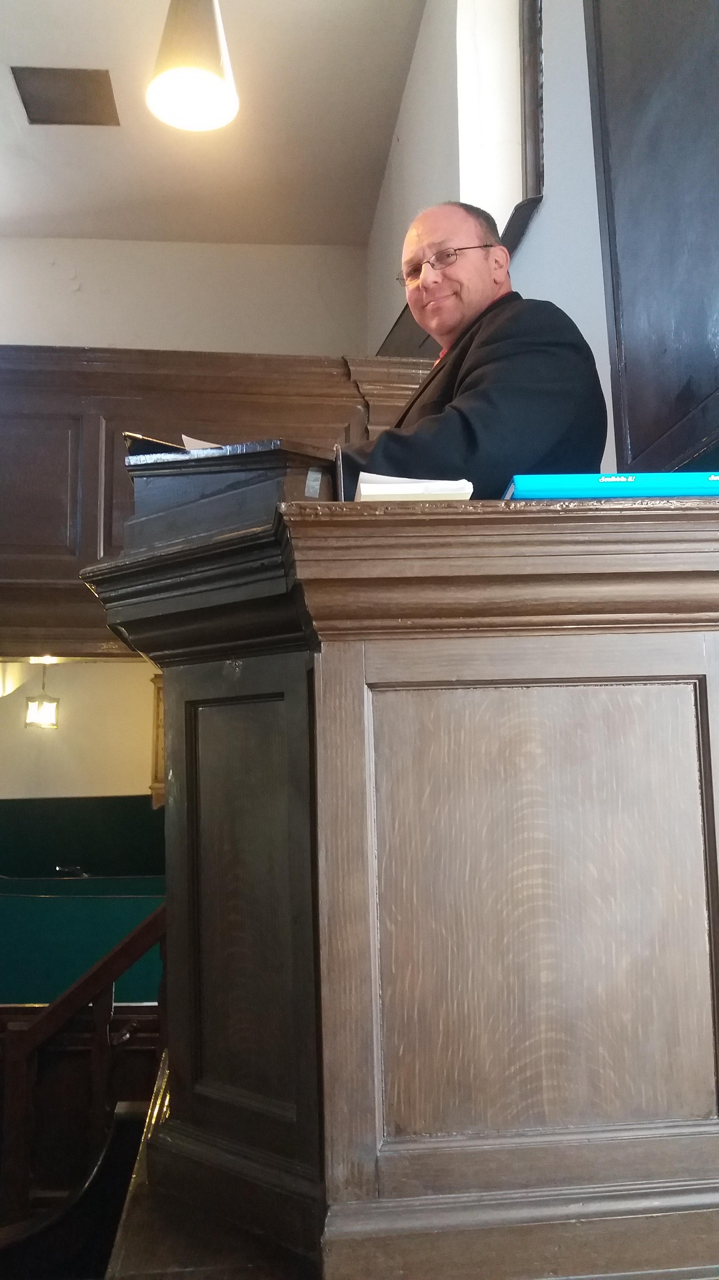 ACT March 2017 pulpit preacher