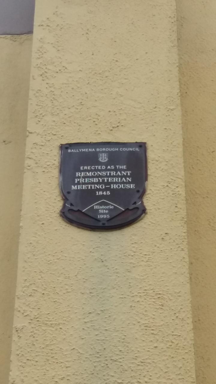 Remonstrant plaque 03