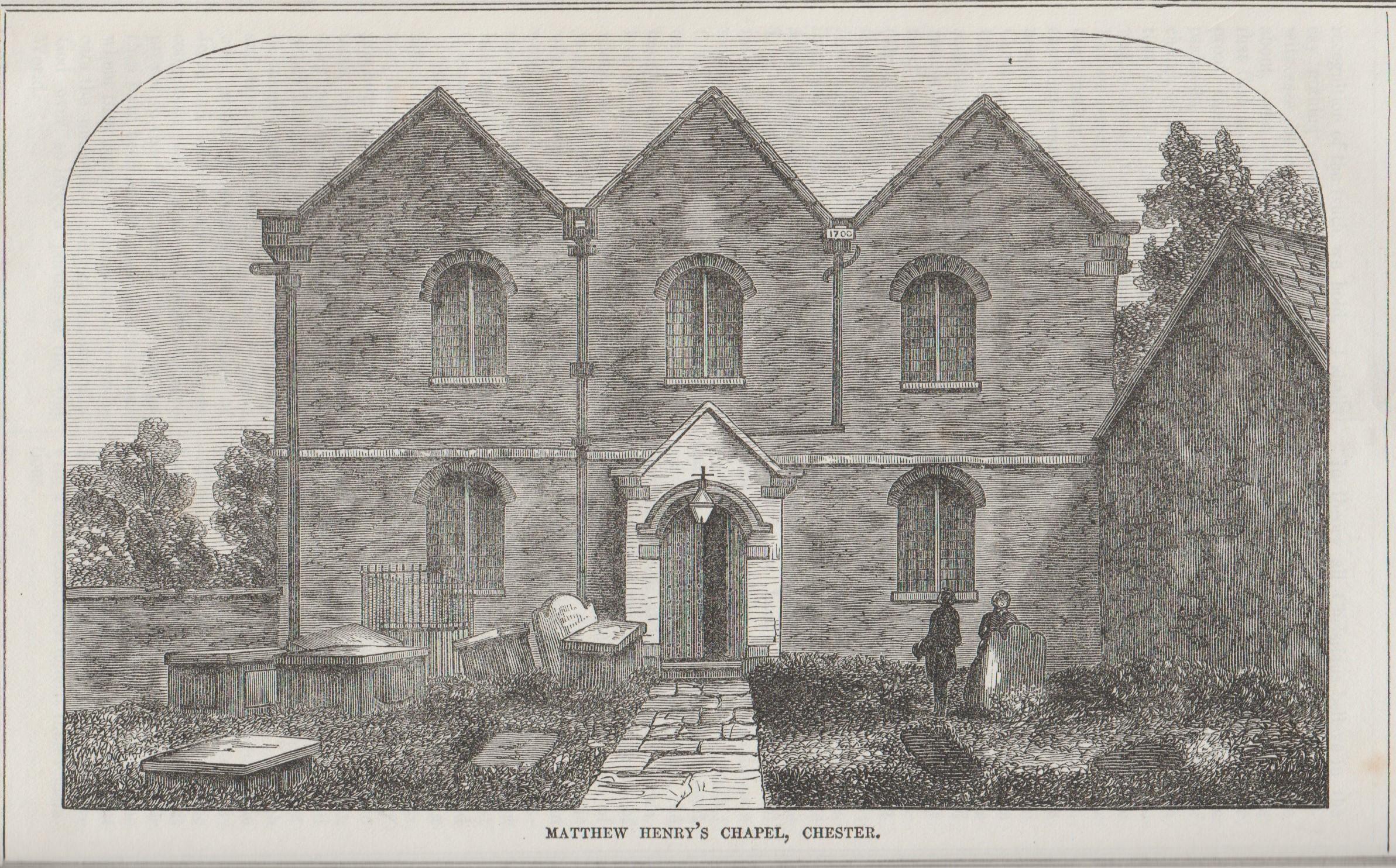 Chester Matthew Henry's Chapel Christian Freeman 1866