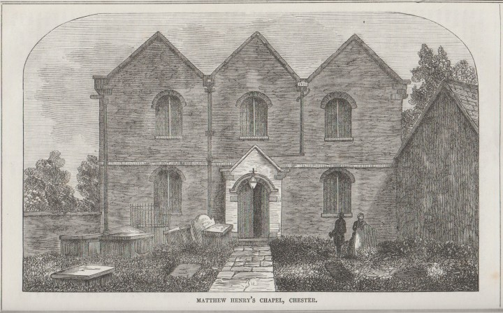 Chester Matthew Henry's Chapel Christian Freeman 1866