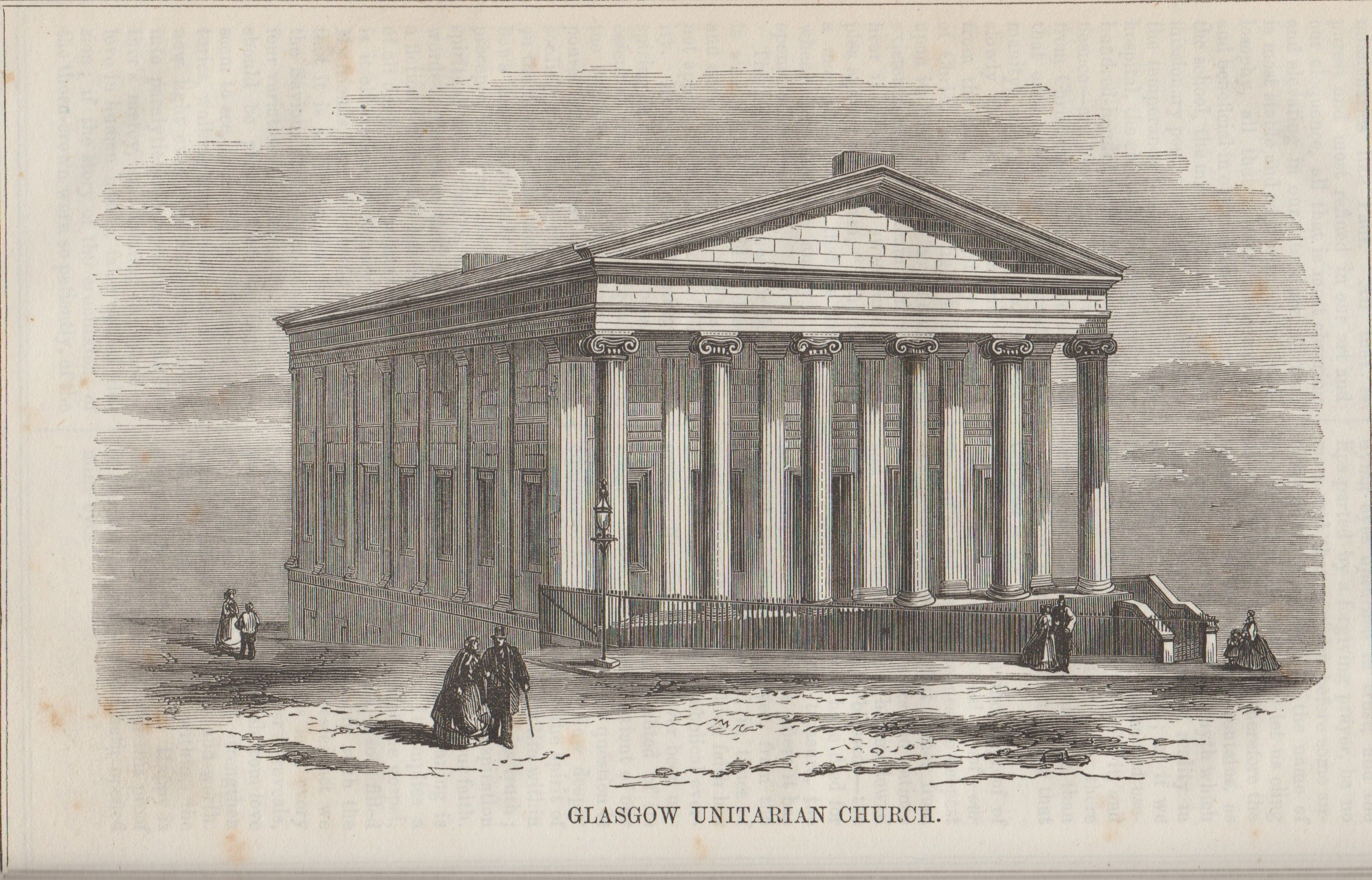 Glasgow St Vnicent St Christian Freeman 1866