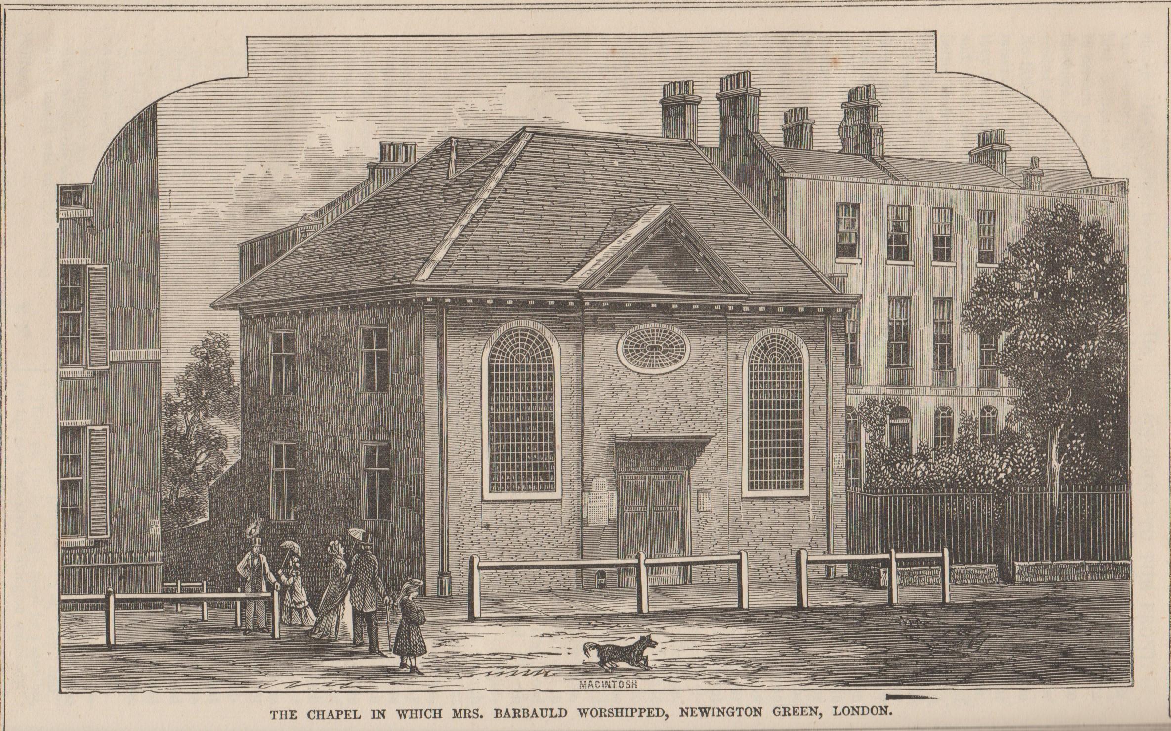 Newington Green Christian Freeman 1866