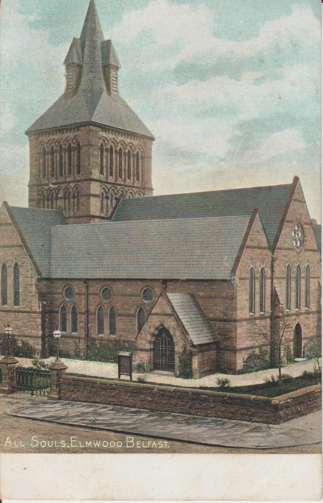 Postcard St Marys All Souls