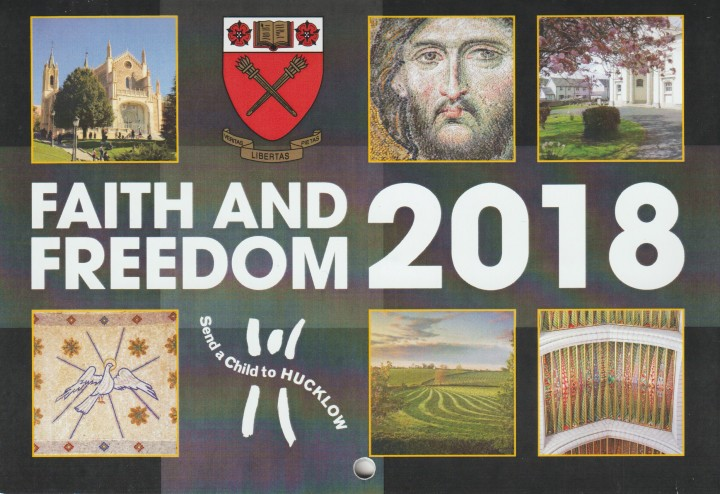 Faith and Freedom Calendar Cover 2018