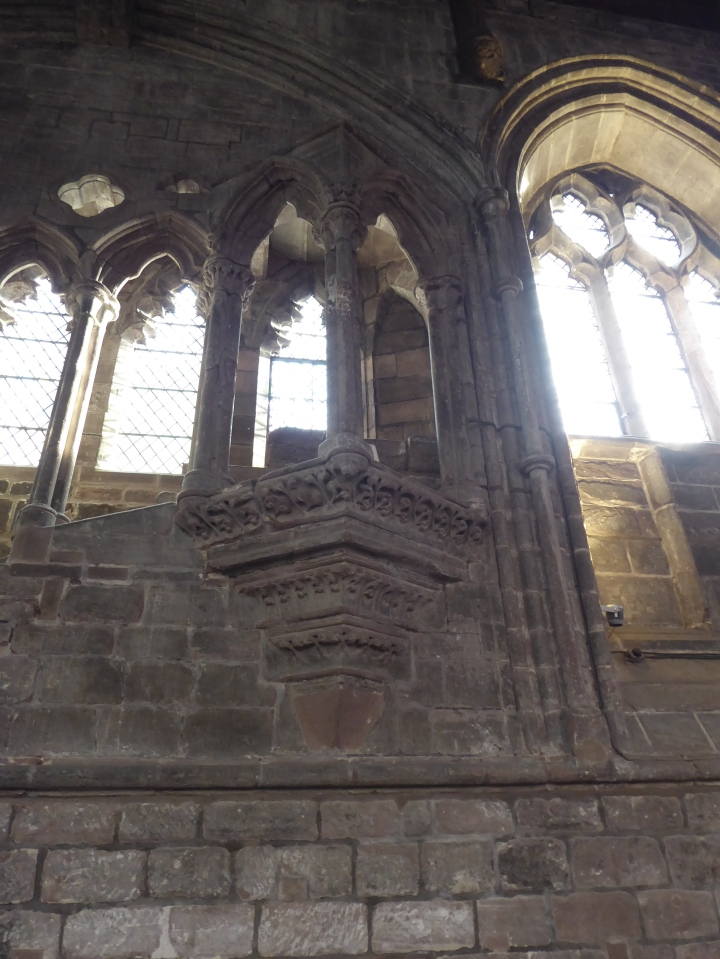 Chester Cathedral refectory pulpit