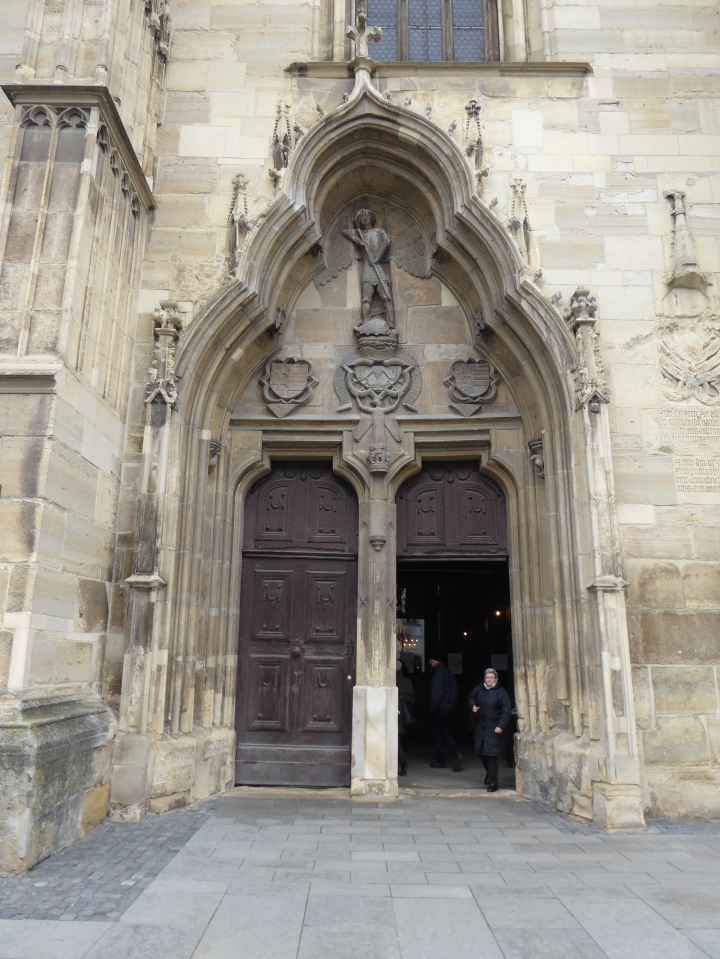 Door to St Michael's Church