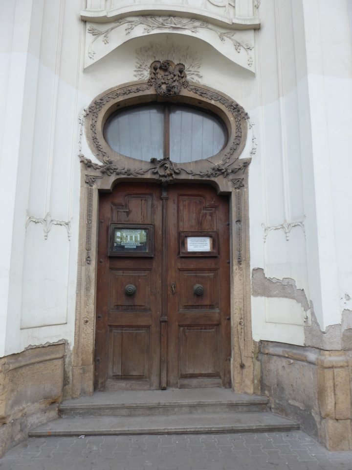 Unitarian Church door detail
