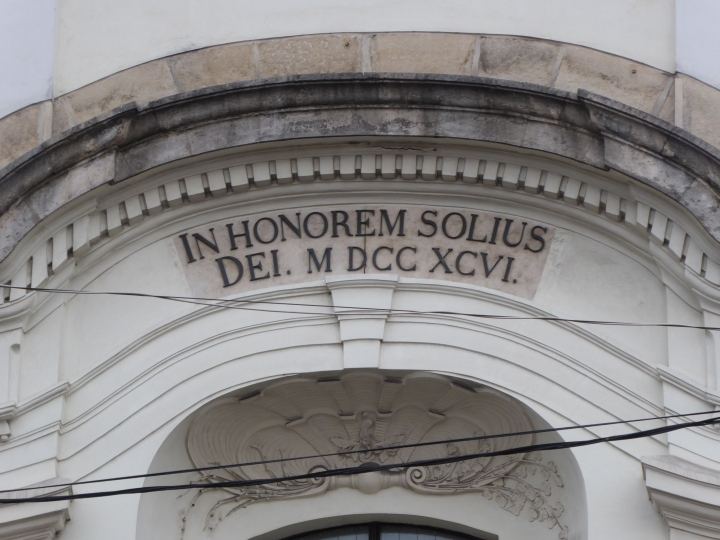 Unitarian Church inscription