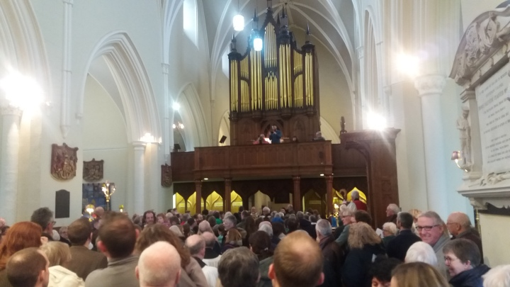 Congregation photographed