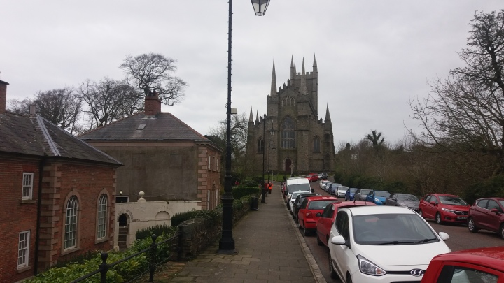 Going up to the Cathedral