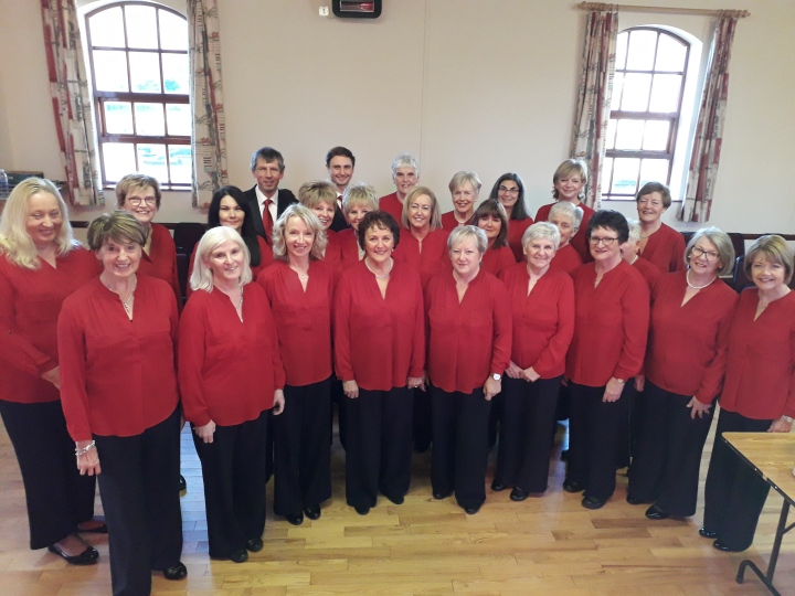 Clough Clare Chorale in Hall 02