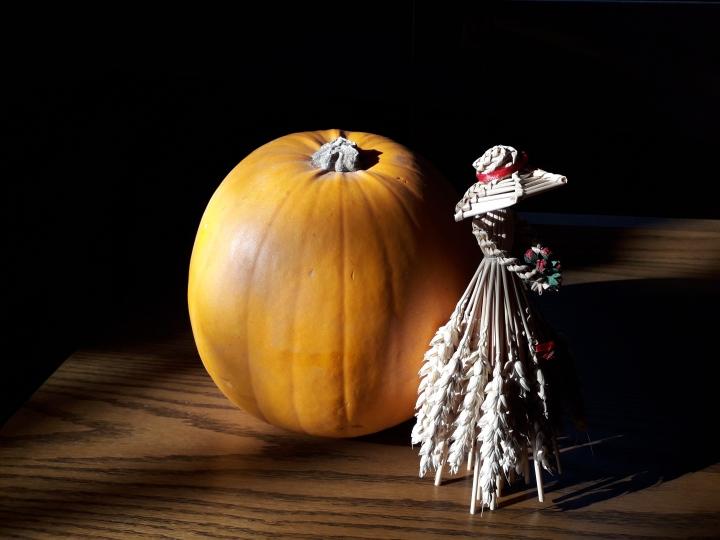Clough Harvest corn dolly