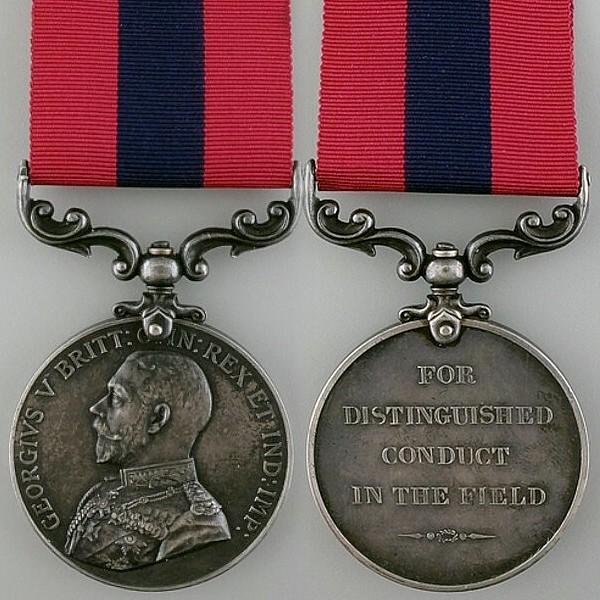 Distinguished Conduc Medal George V