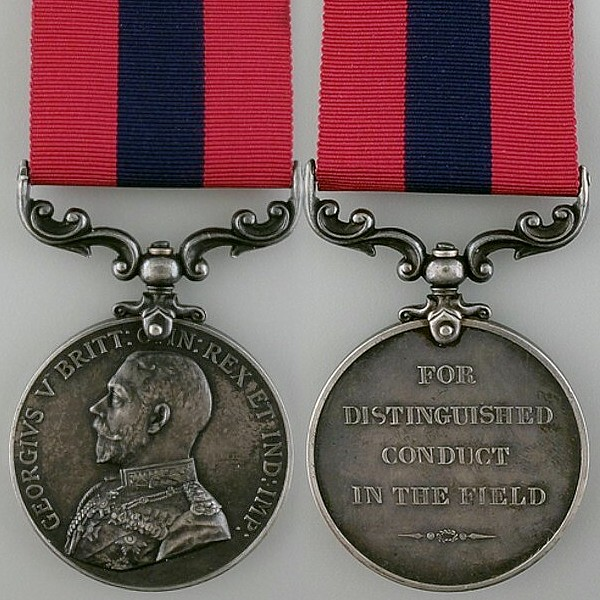 Distinguished Conduc Medal George V