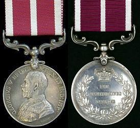 Meritorious Service Medal George V