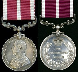 Meritorious Service Medal George V