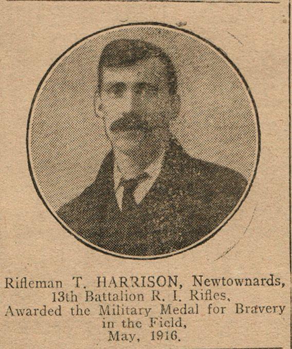 Rifleman Thomas James Harrison