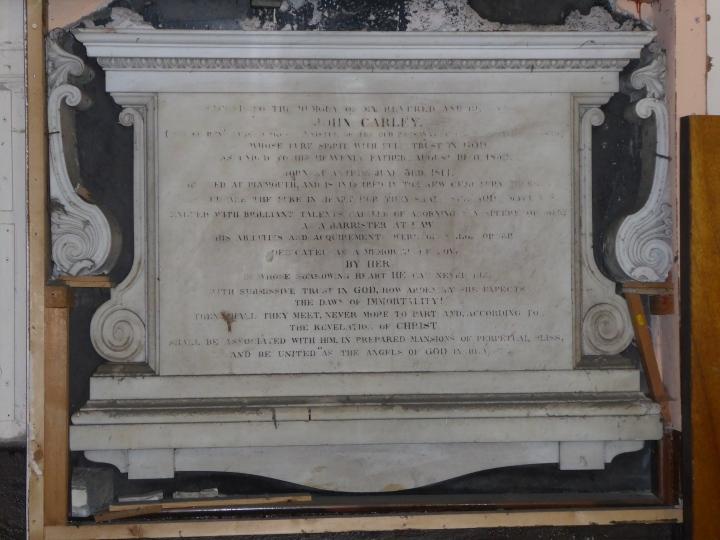 Antrim John Carley memorial