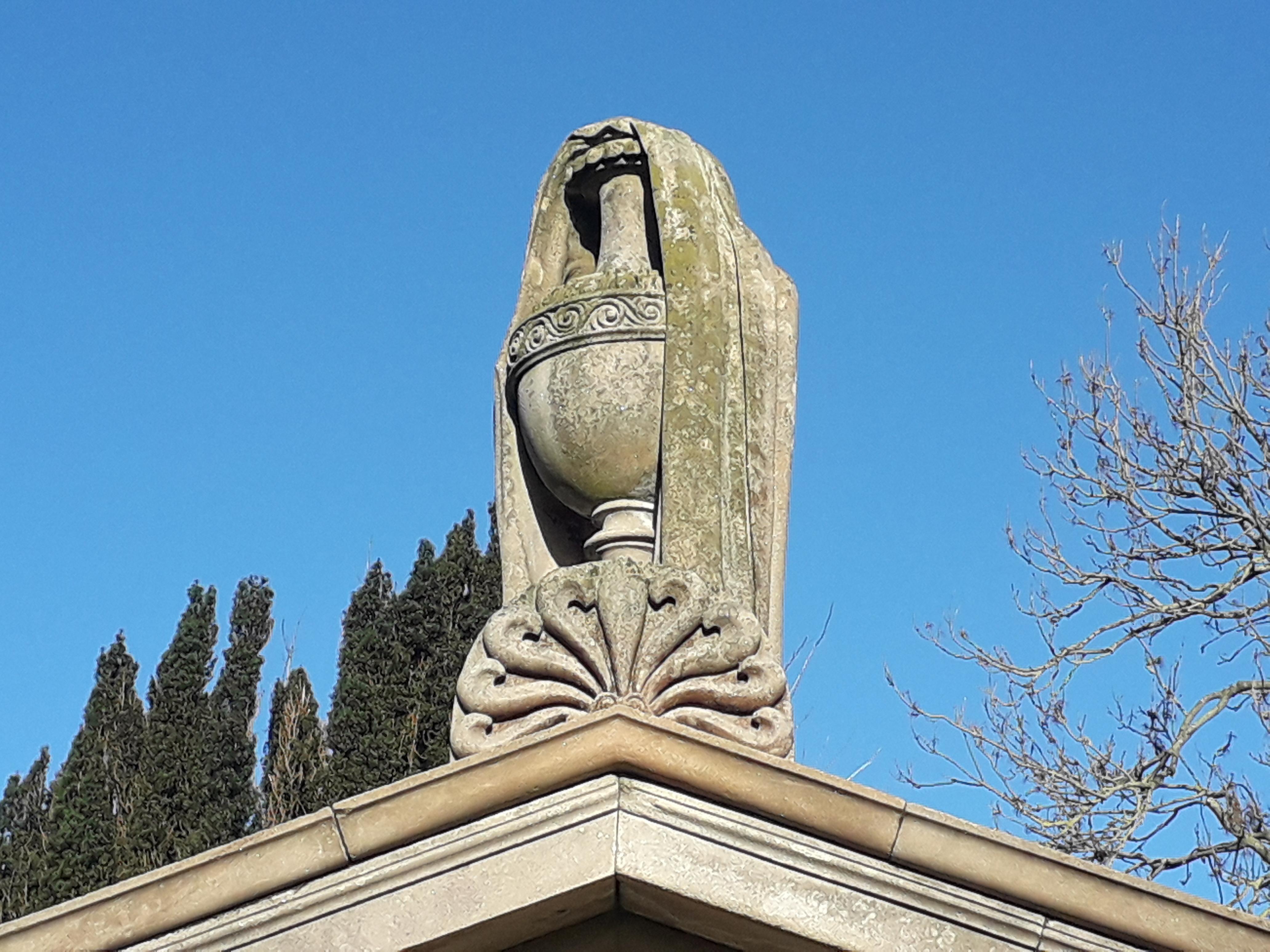 Clough Vault urn