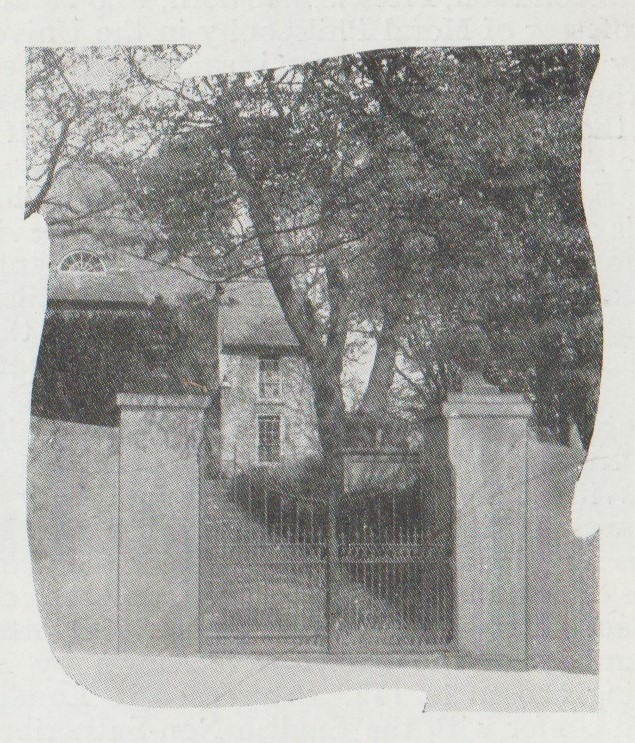 Downpatrick entrance gates September 1909