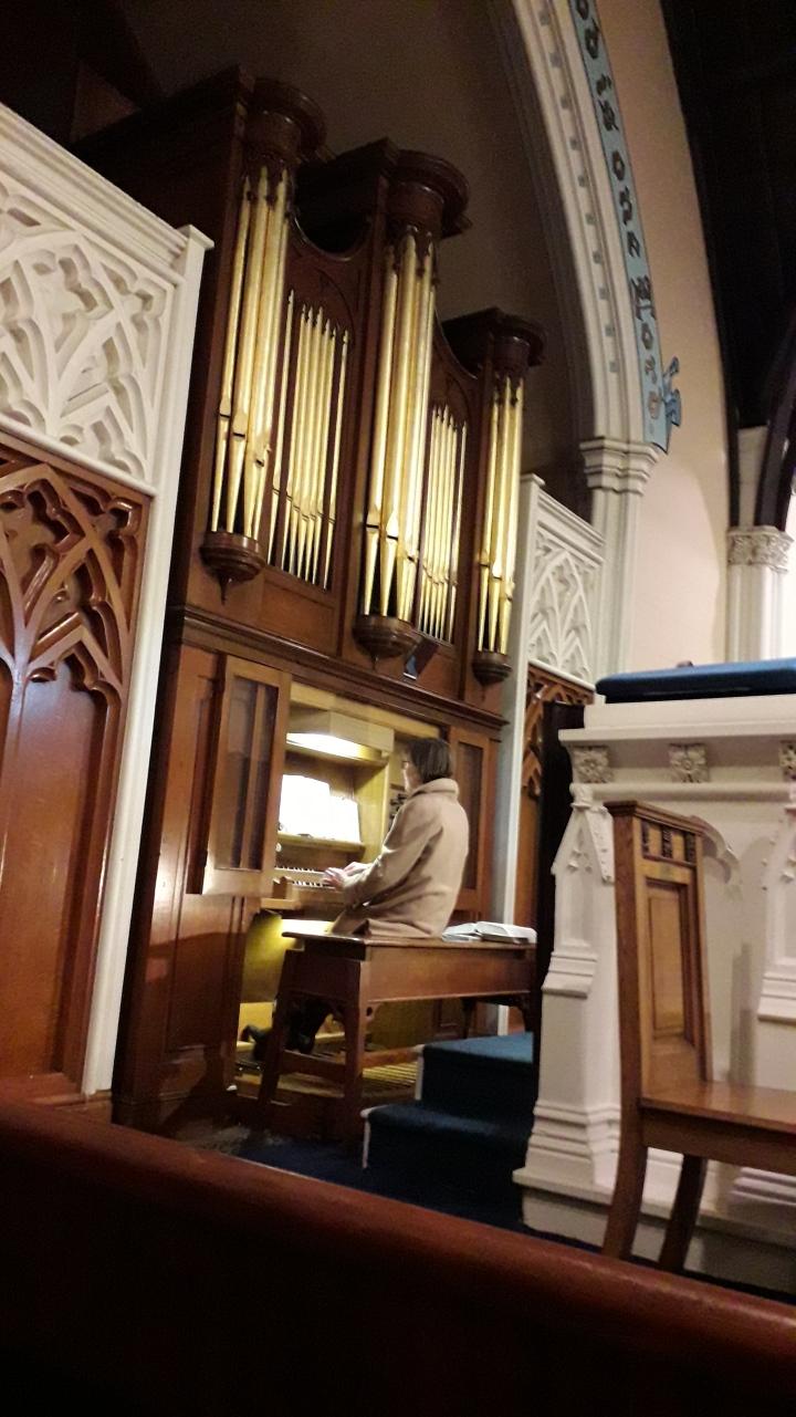 Newry organ
