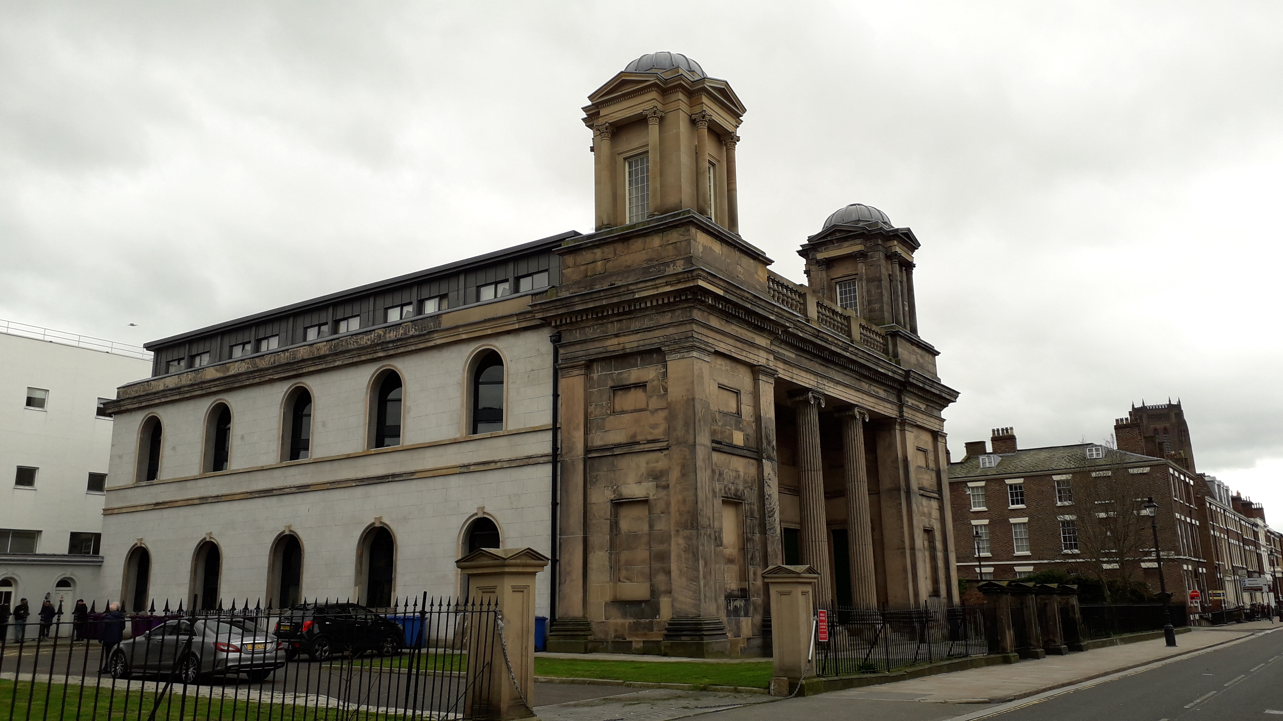 Rodney Street view front from left