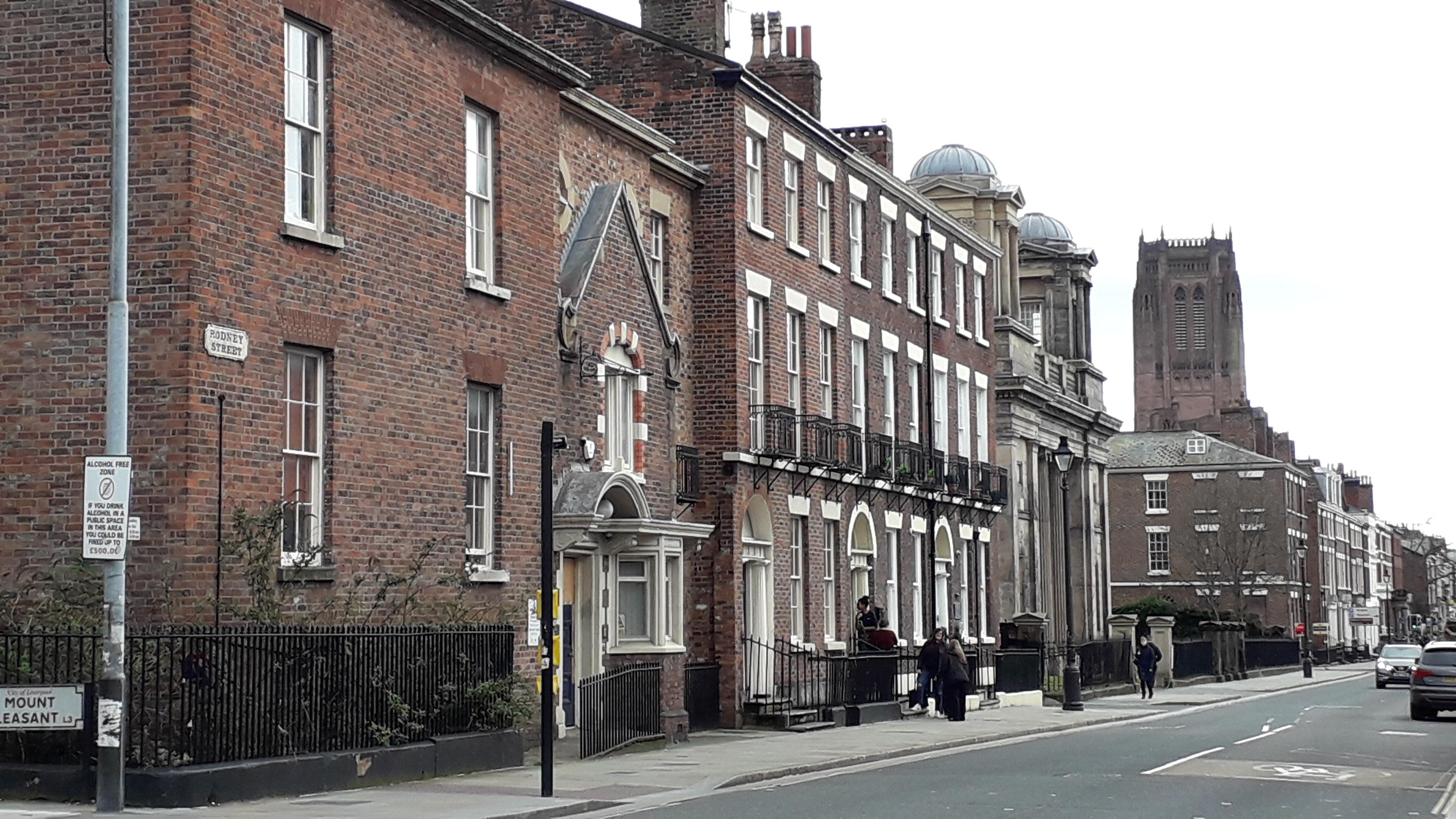 Rodney Street vista