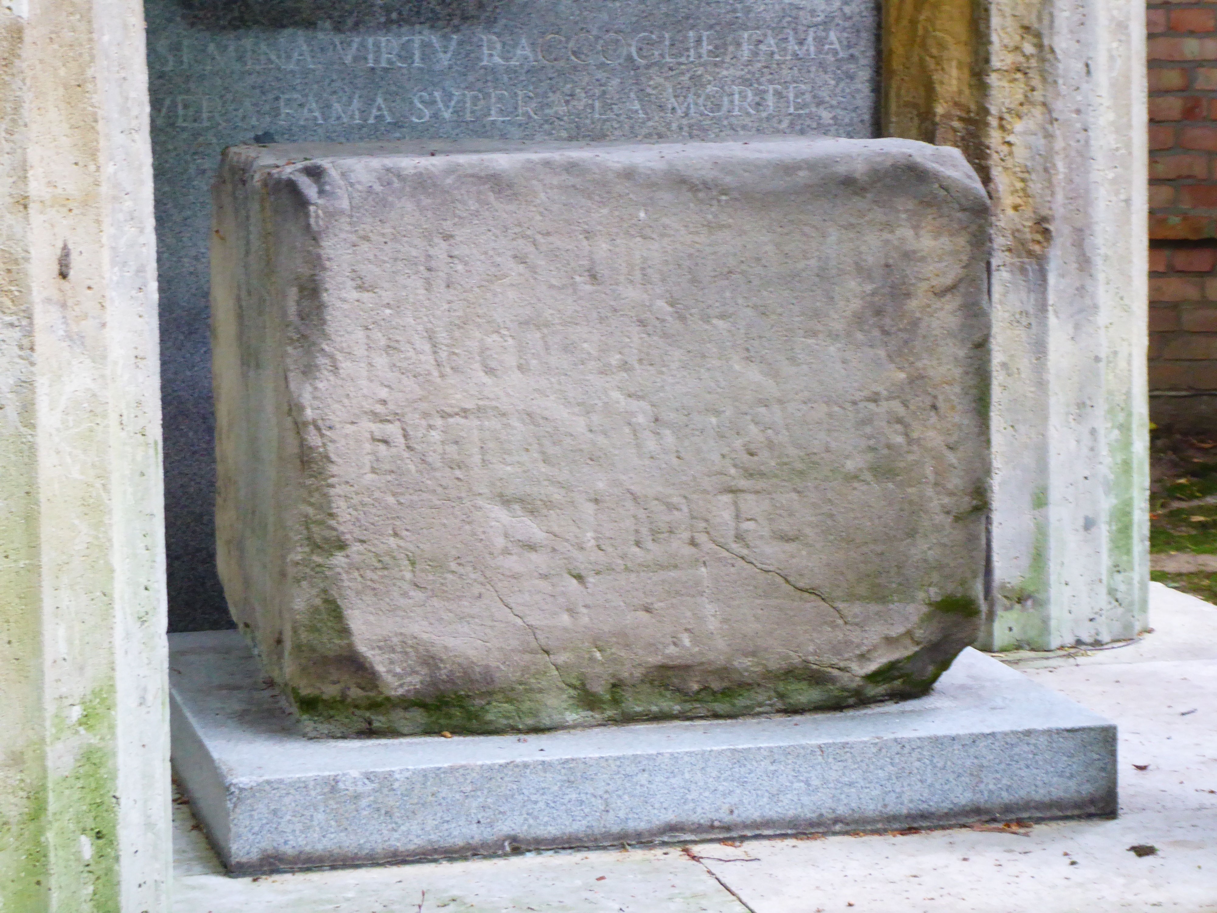 Socinus Grave Main stone