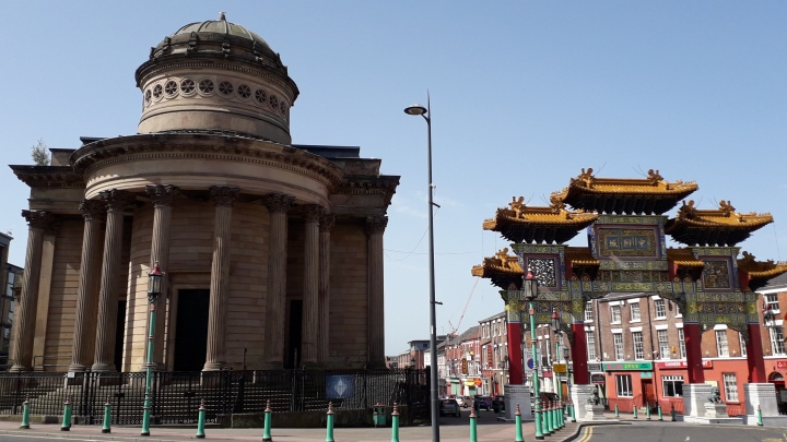 GGC front view with Chinese Arch