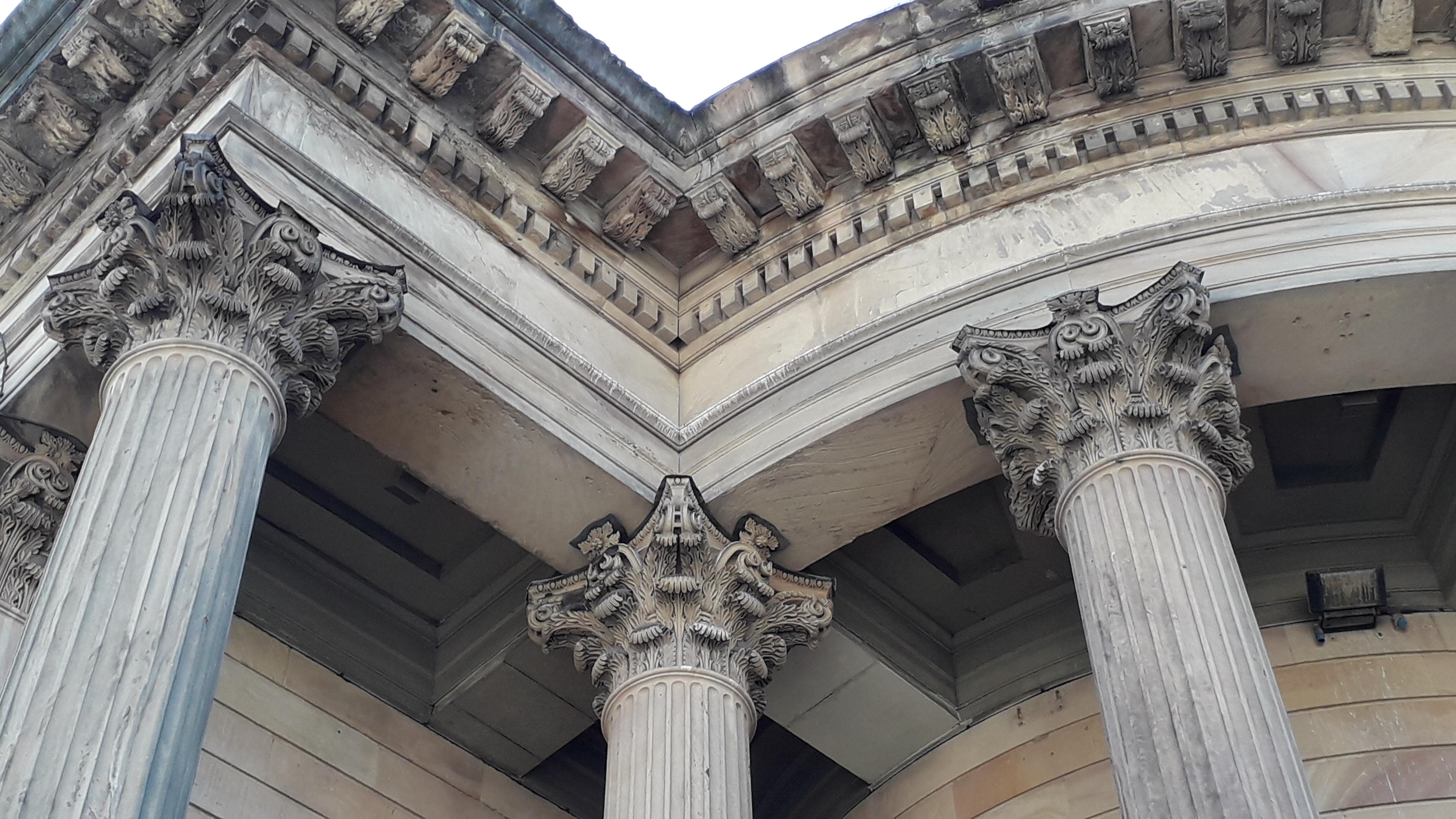 GGC pillar heads