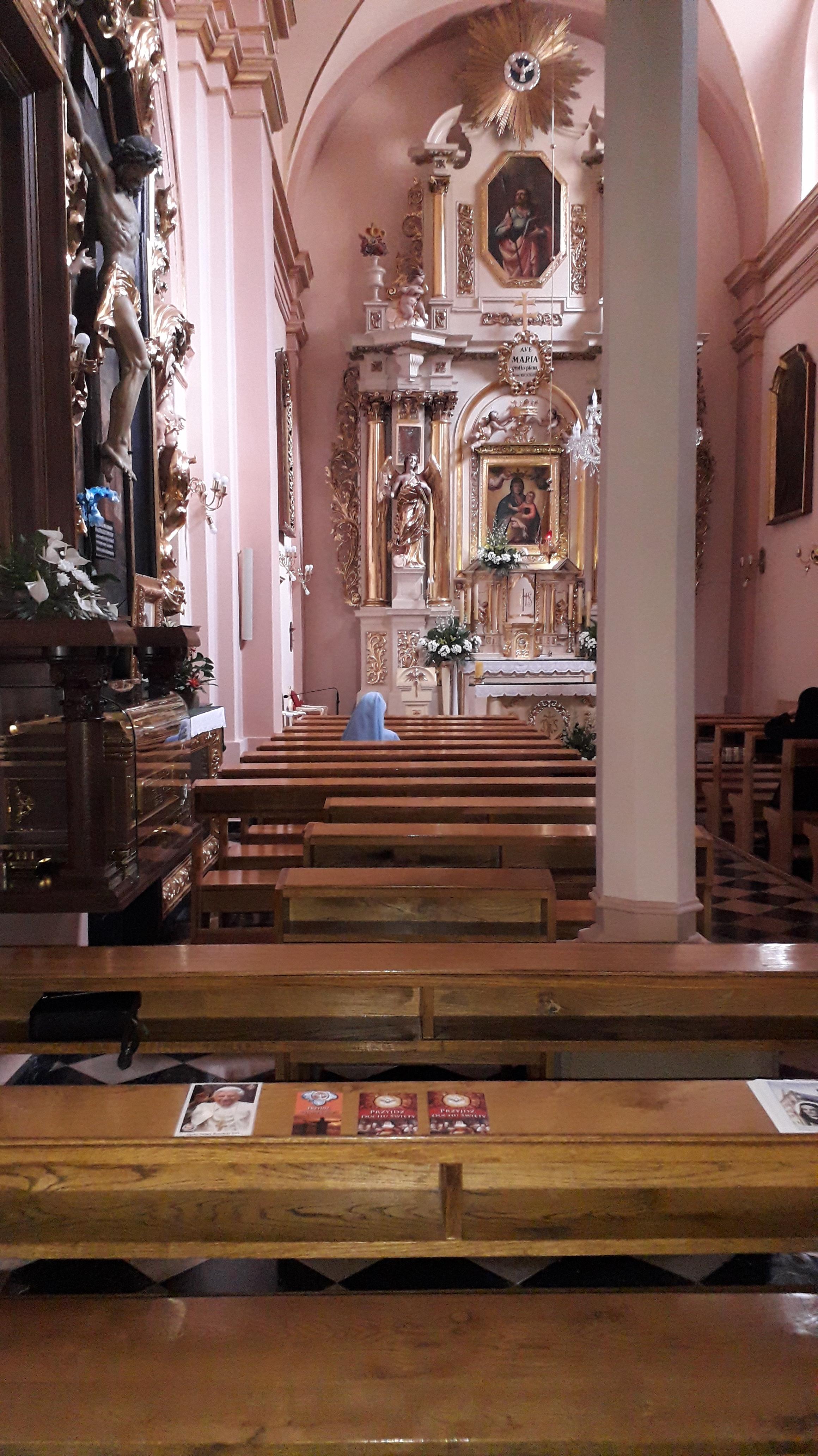 Krakow Arian church int Sue